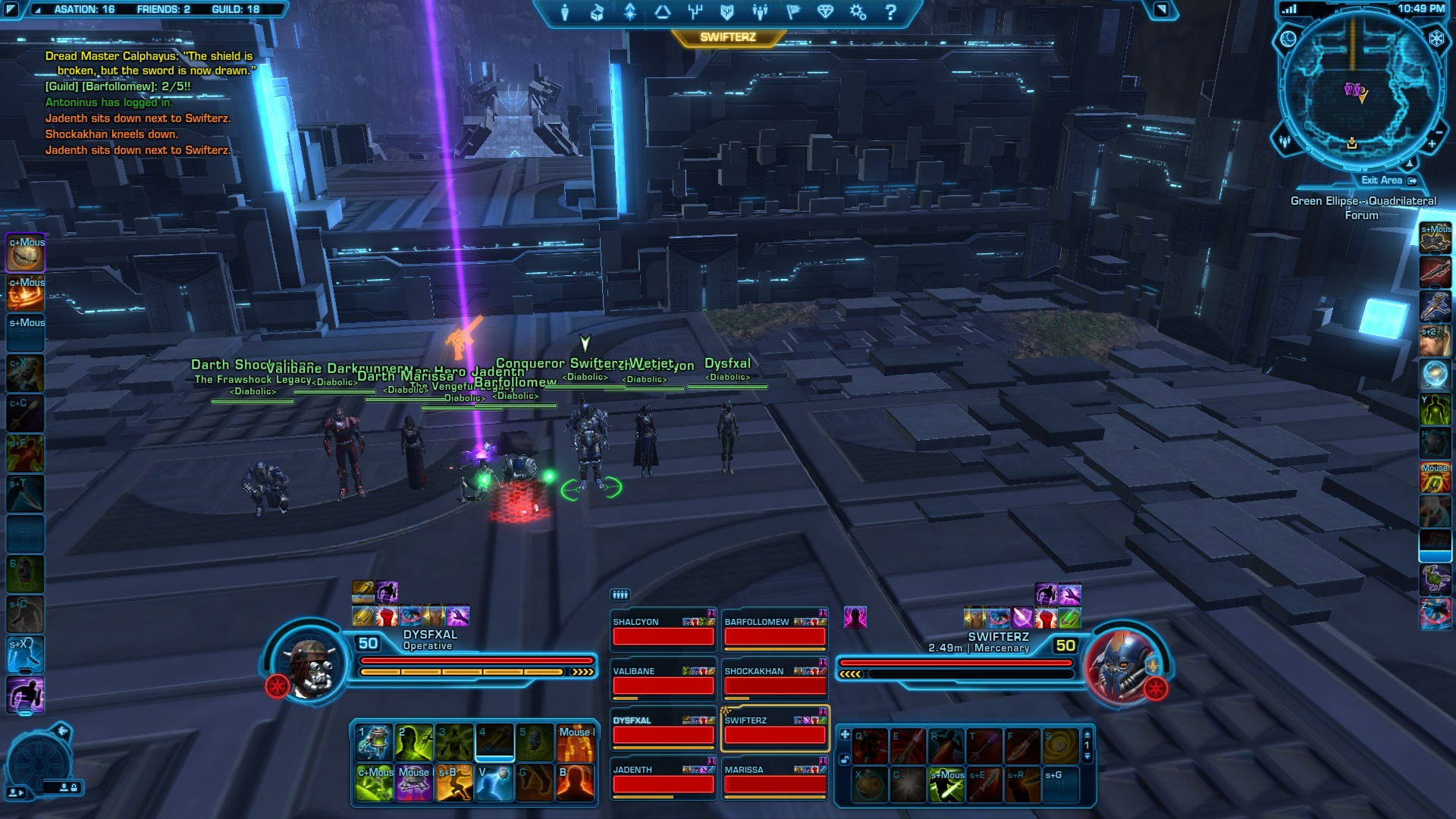 Damn you SWTOR, you've ruined other MMO's for me! : swtor