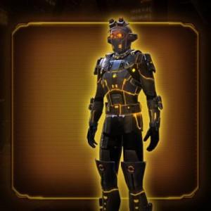 Gold Scalene Armor Set