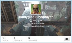 Baldy on Twitter