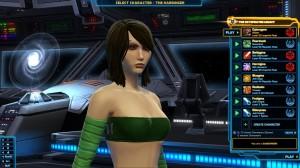 Cyborgina in green