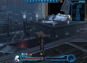 New spawn point in Voidstar