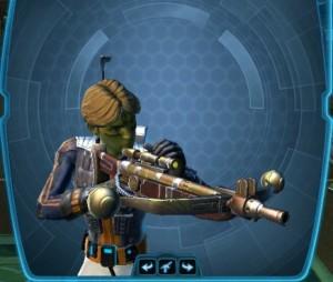 elite tracker's bowcaster
