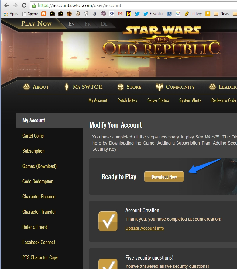 OotiniCast - A Star Wars: The Old Republic (SWTOR) podcast
