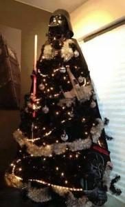 Vader xmas tree