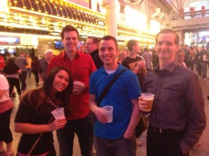 Vegas - Heather, Terg, Mosq, Bill