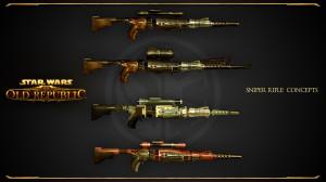 Sniper rifle concept
