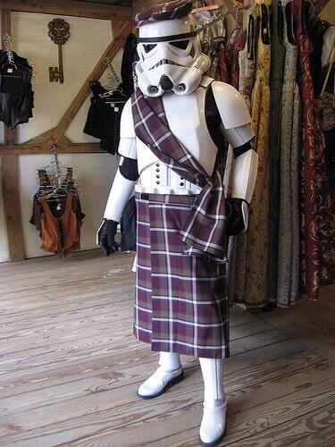 Madmar - stormtrooper in a kilt