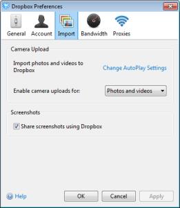 Dropbox tip