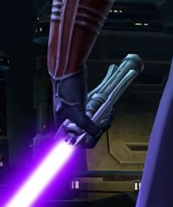 Revan's lightsaber from The Foundry