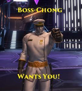 Boss Chong wants you