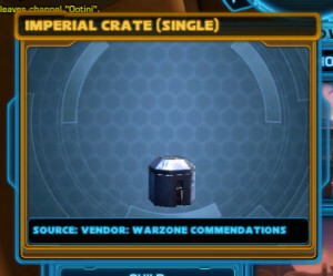 Imperial crates (single)