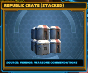 Republic crates (stacked)