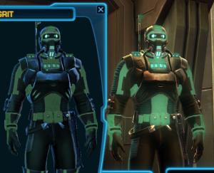Terg - luminscent armor