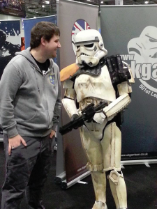 Charlie and the Stormtrooper