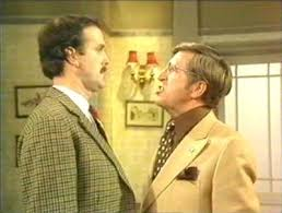 Bruce Boa in Faulty Towers