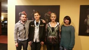 Eric Musco, Teo, Hillary Nicole and Courtney Woods