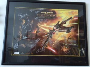 Chill - signed GSF poster