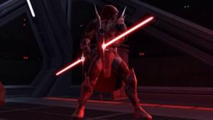 Cole - crossguard saber