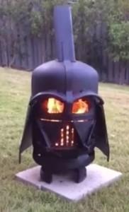 Darth Vader brazier