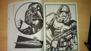 Kal - Depressed Darth's Worst Colouring Book Ever