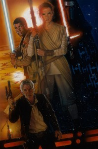 The Force Awakens D23 poster
