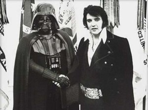 Darth Vader and Elvis