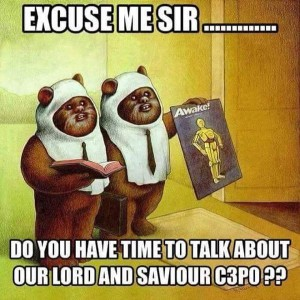 Chill - Ewoks bringing the faith