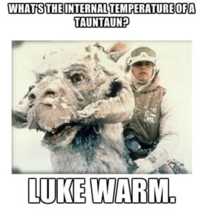 Luke-warm