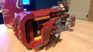 Charlie - Lego speeder