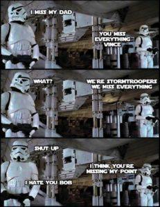 Master Liu - Star Wars humour